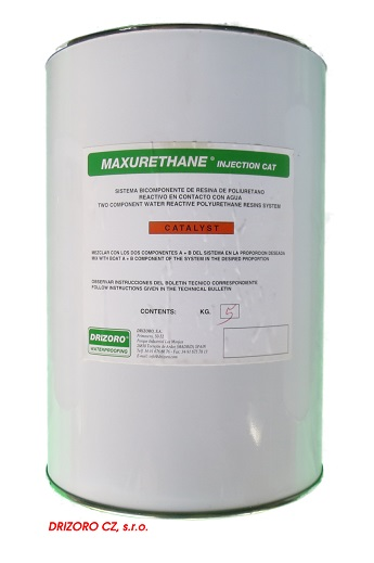 Katalyzátor Drizoro MAXURETHANE INJECTION CAT - 5 kg